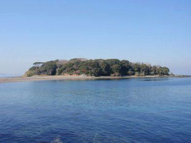 朝日新聞千葉版に、沖ノ島視察の様子が掲載されました。