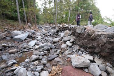 現代土木の副作用3.  砂防ダム・土石流の仕組みと治山の在り方を考える