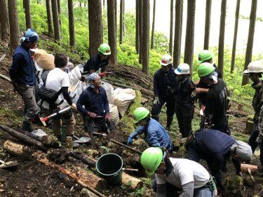 山梨県・小菅村 水源の森再生プロジェクト 第2回活動報告